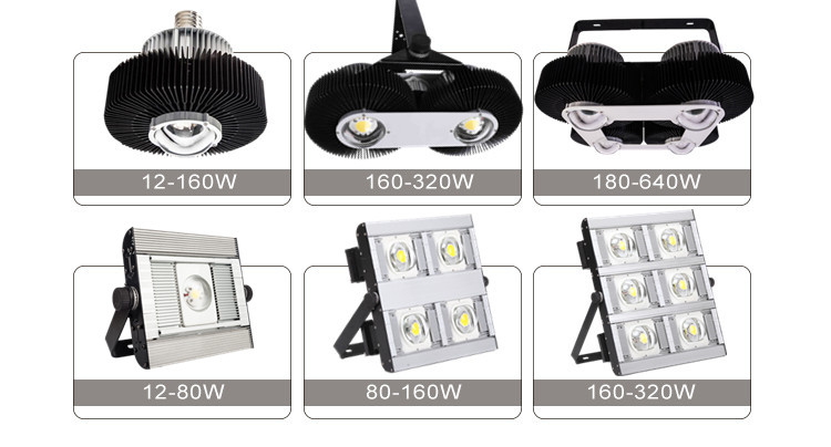 High quality power flood lighting brightness 150w spotlight module led tunnel light