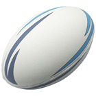 Best Quality Solid Grain Machine Stitched Rubber Leather Rugby Ball