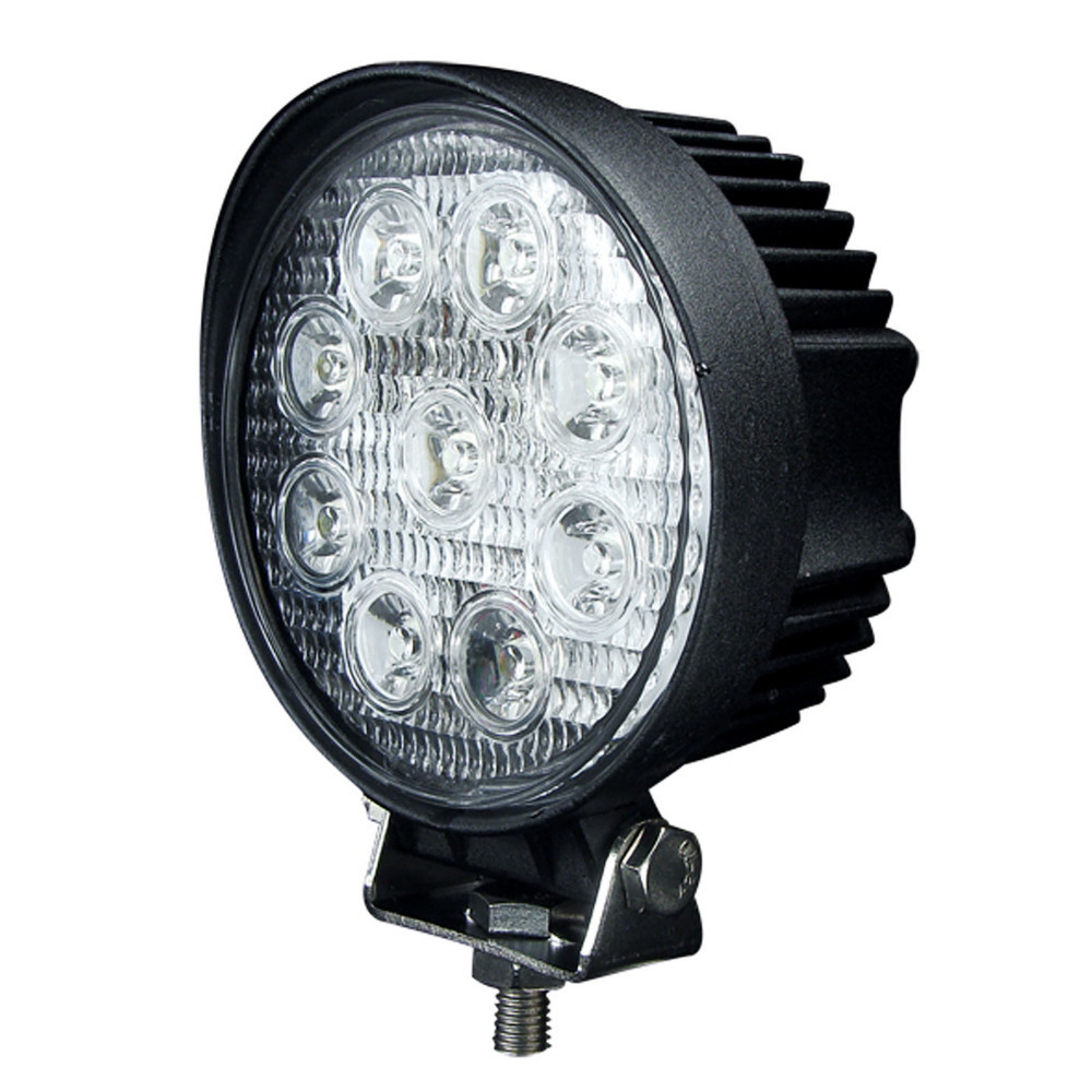 2X 27W 4 inch Round Spot LED Work Light Offroad Boat 4x4 ...