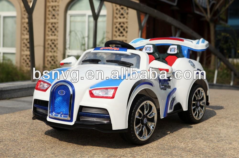 kids electric ride on car bugatti