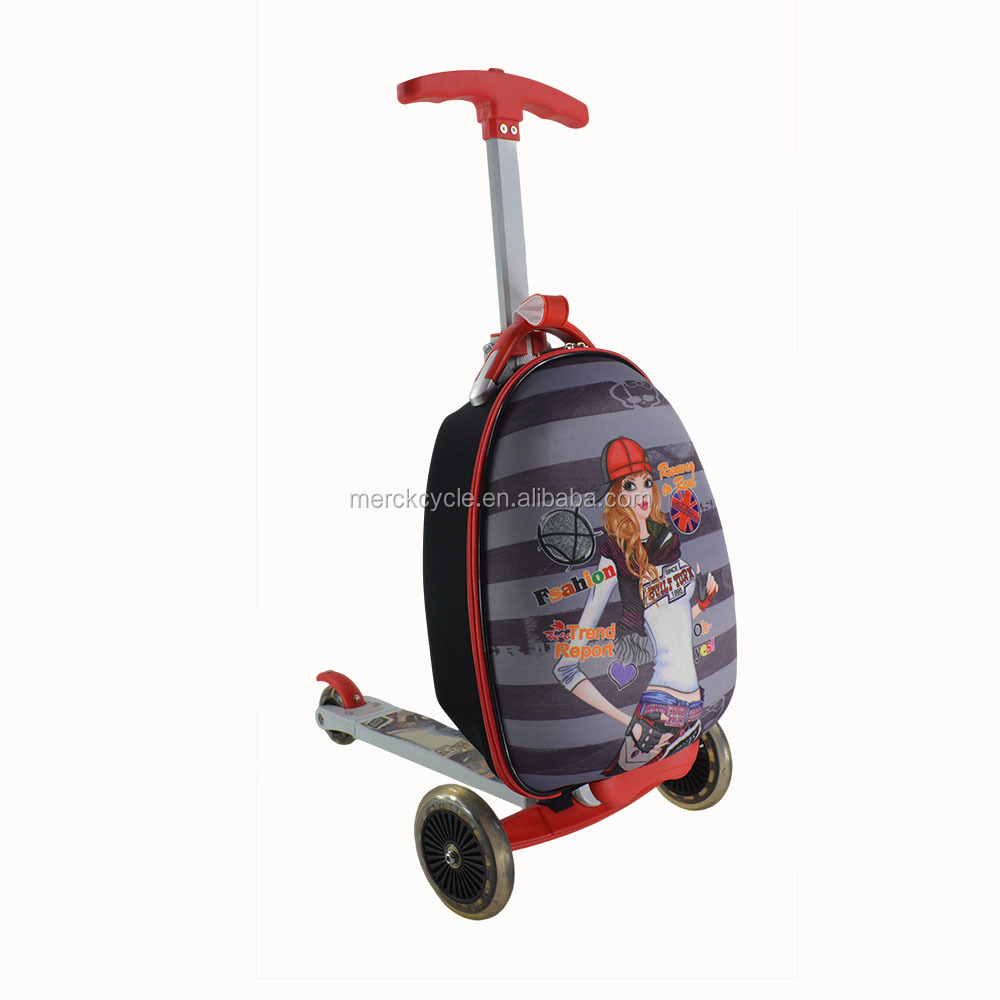 Trolley Luggage Scooter For Kids