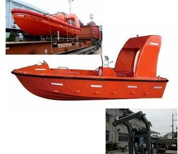 4.5m Length F.r.p.solas Marine Rescue Boat,Marine Open Type ...