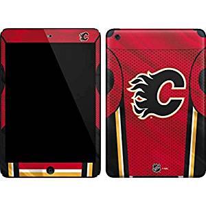 NHL Calgary Flames iPad Mini (1st & 2nd Gen) Skin - Calgary Flames Home Jersey Vinyl Decal Skin For Your iPad Mini (1st & 2nd Gen)