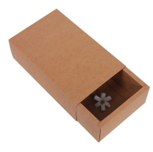Brown Kraft Paper Sleeve Drawer Gift Box