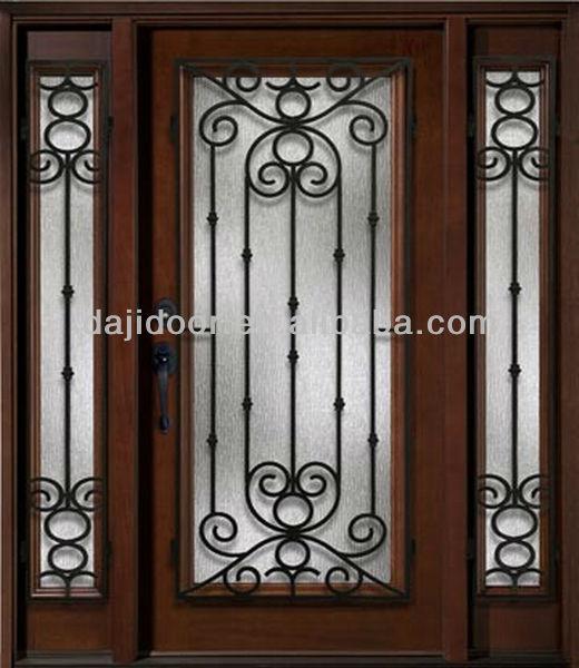 Lowes Puertas De Seguridad De Hierro Forjado Entrada Dj-s9000wst-13 ...