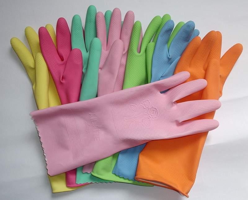 Household latex rubber gloves /safety equipment 35g