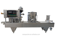 China Manufacture Water Plastic Cup Filling& Sealing Machine