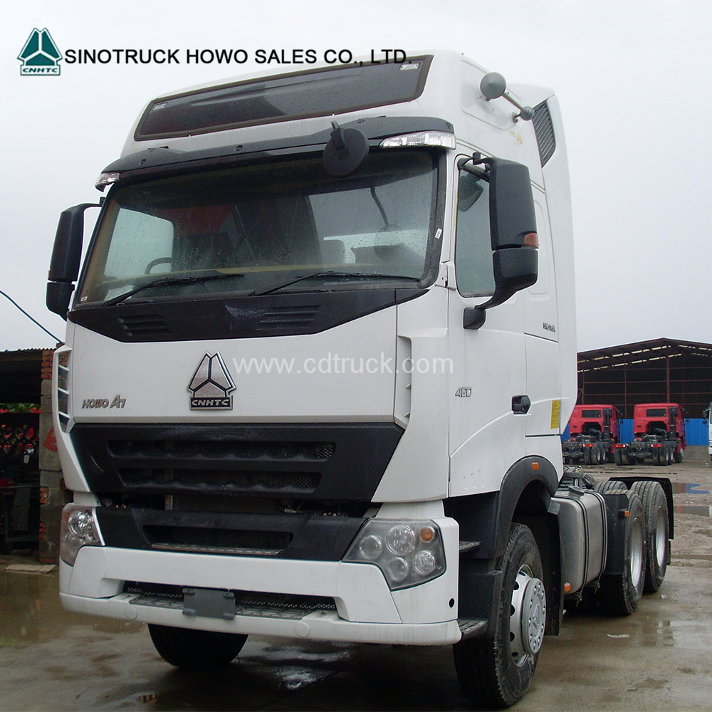 6*4 371 Horse Power SIONTRUK HOWO A7 Tractor Truck Low Price Sale
