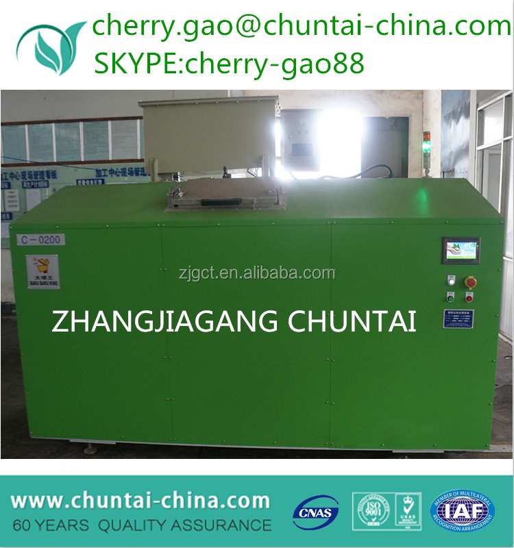 200KG per day handling capacity food waste decomposer machine for hotel and restaurant