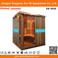 Cedar barril sauna do infravermelho distante do quarto com leitor de <span class=keywords><strong>CD</strong></span> para venda