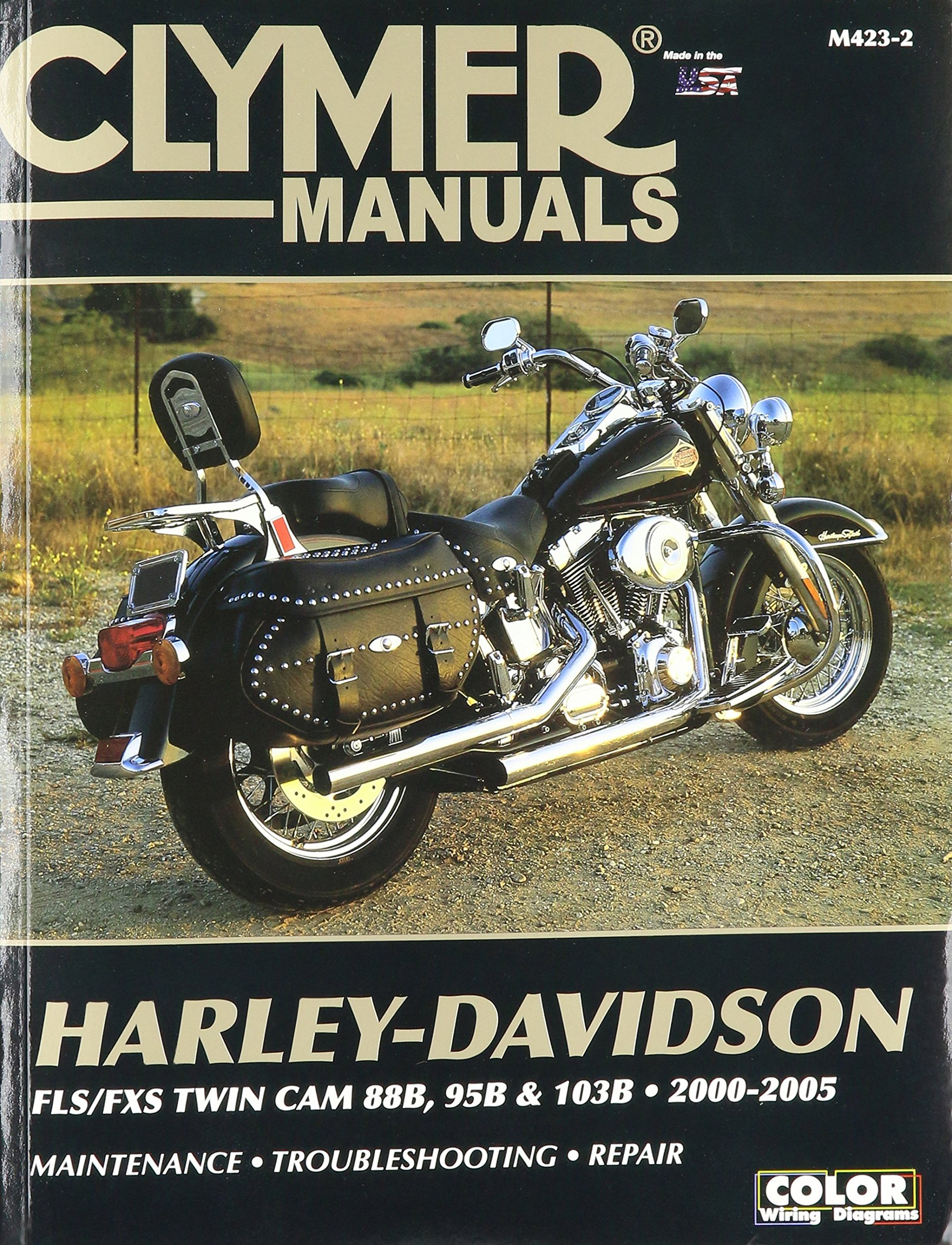 1986 Harley Heritage Softail Wiring Diagram Cheap Best Find Deals On Line At Get Quotations Clymer Repair Manual For Twin Cam 88 00 05