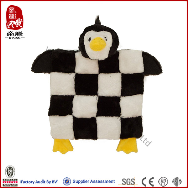 ICTI SEDEX Soft Baby Toy Plush Penguin Mat