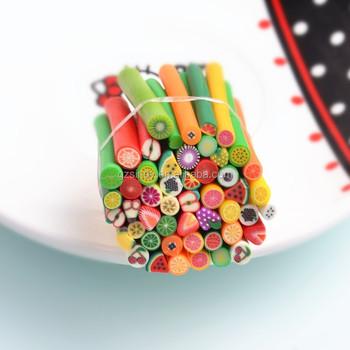 Nail Art Fimo Fruit 12 Styles 3d Design Decoration Tips Fruit Series