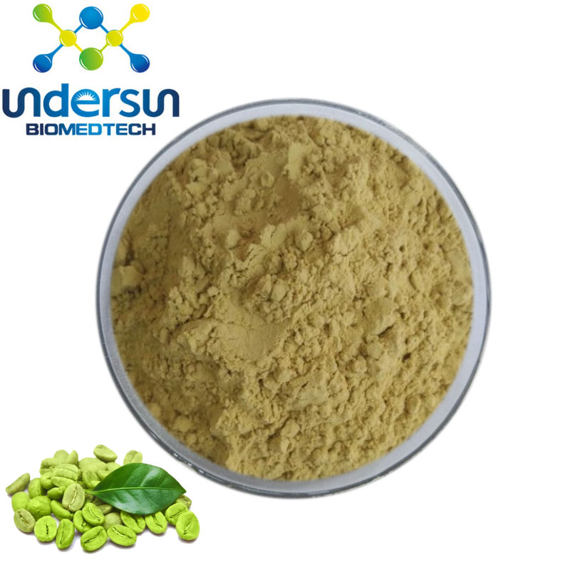 Chlorogenic Acid 50 Powder From Green Coffee Bean Extract For