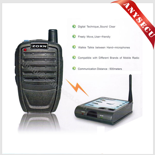 OEM Car Two Way Radio Handheld Wireless Bluetooth Microphone ZX-777