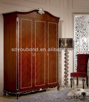 neo classic bedroom furniture yb08 3 d wardrobe buy. Black Bedroom Furniture Sets. Home Design Ideas