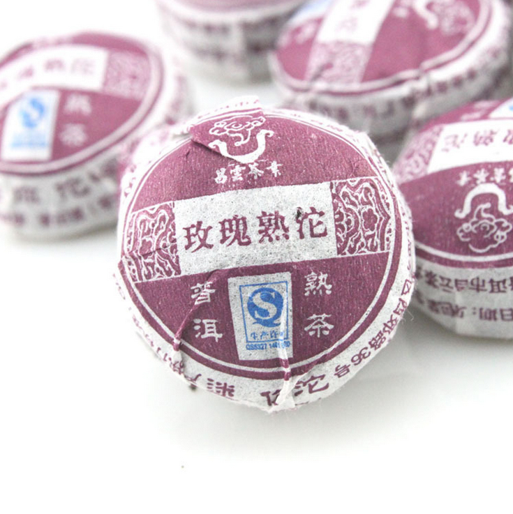 Hot Sale Rose Flavor Pu er, Puerh Tea, Chinese Mini Yunnan Puer Tea, Green Slimming Coffee Free Shipping
