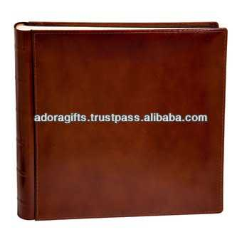 ADAPAC - 0047 leather cover photo album / photo book album leather material / make leather handmade photo album