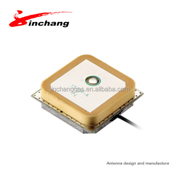 25*25*4mm low height GPS internal active pcb receiver <strong>antenna</strong> with RF1.13 cable