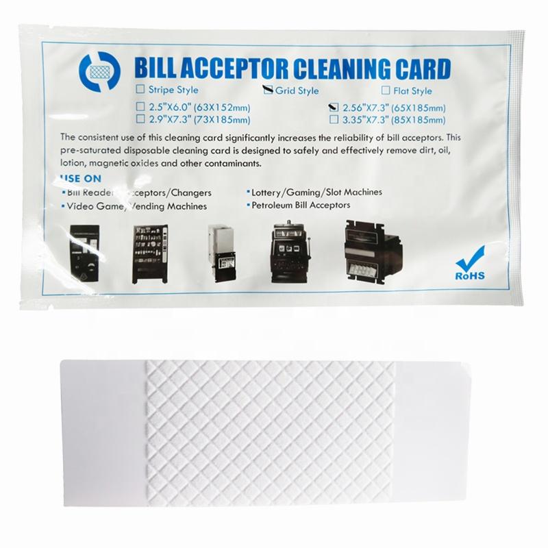Compatible Jcm Bill Validator/acceptor Cleaning Cards - Buy Jcm Bill  Validator Cleaning Cards,Jcm Bill Acceptor Cleaning Cards,Jcm Cleaning  Cards