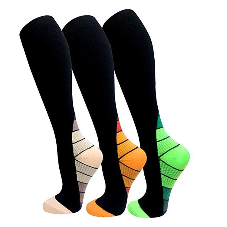 calcetines de compresión para trabajadores de la construcción