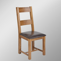 506 Range Distressed Oak antique Dining Chair