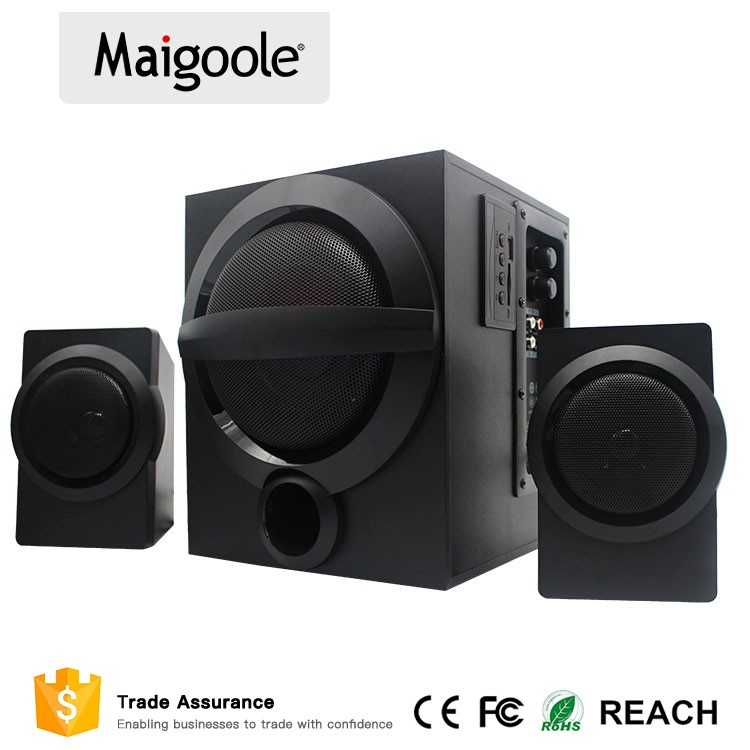 2017 high quality ODM powered subwoofer home theater speaker with Bass sound effects