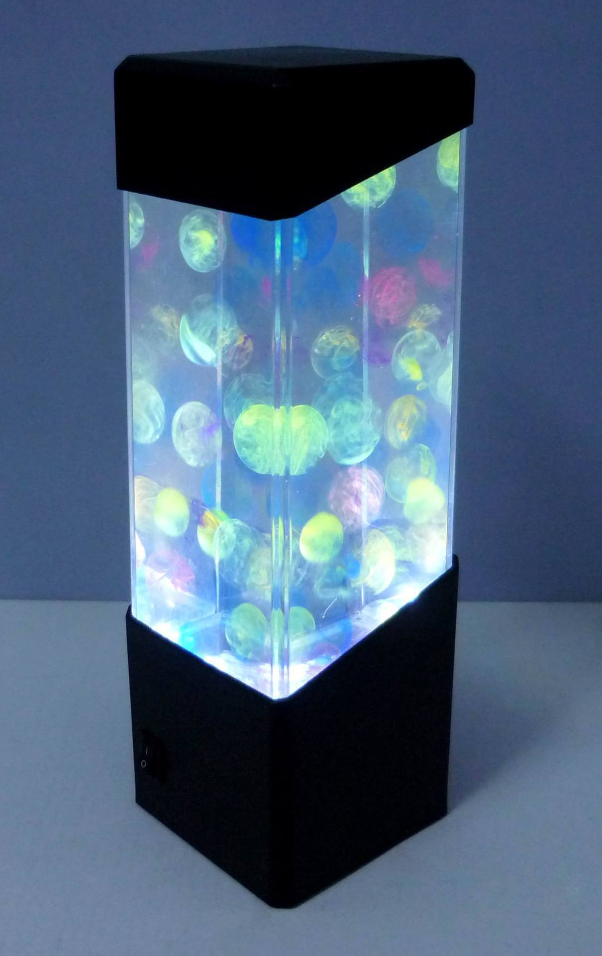 Wholesale Stock Small Order Home Decorative Colorful LED Jellyfish Night Light