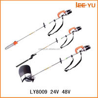 Electric brush cutter , multi-function battery brush cutter 24V 48V