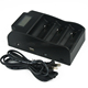 TrustFire TR-008 3 slots LCD charger USB charger for Vamo/SVD/K100/KTS mod battery