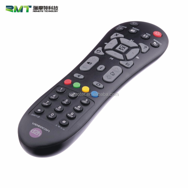 Quality Reliable Digital Set Top Box Remote Control Manufacturer with Moulds and Functions Customized
