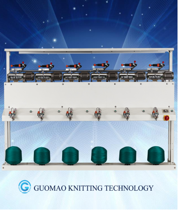 24 spindles auto thread rewinding machine, economic type,changshu manufacturer