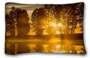 Generic Baby Boys' Landscapes Breaking Rays Alouette River Pitt Meadows British Columbia Canada 20x30 inches