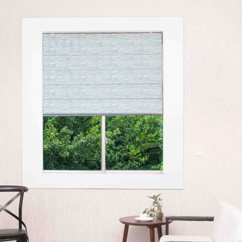 custom high quality roman blinds motorized shades blinds