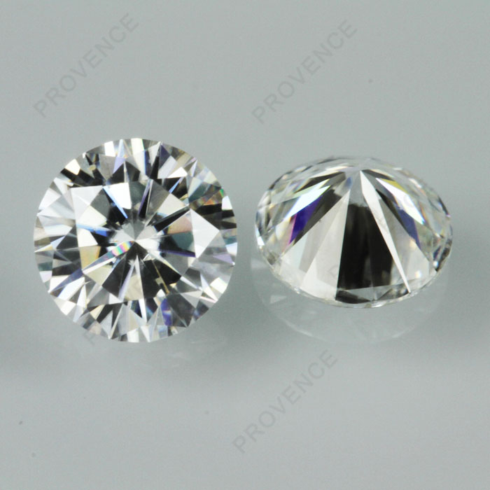 Hot sell 7mm round DEF color VVS clearly white moissanite <strong>diamond</strong> loose