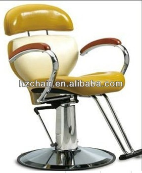 2015 colorful hair salon chairs with footrest popular recline barber
