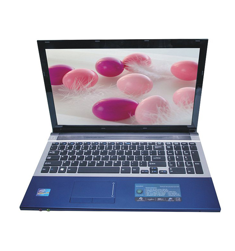 2017 Hot Sale 15.6 inch Intel core i7 <strong>laptop</strong> with 8G Ram 1T HDD Dual core Notebook with DVD Rom Free shipping and support AZERTY