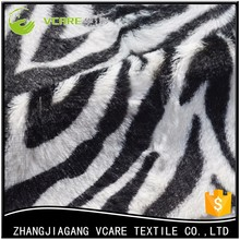2017 Newest Multifuntional Oem Faux Zebra Real Fur Fabric Prices