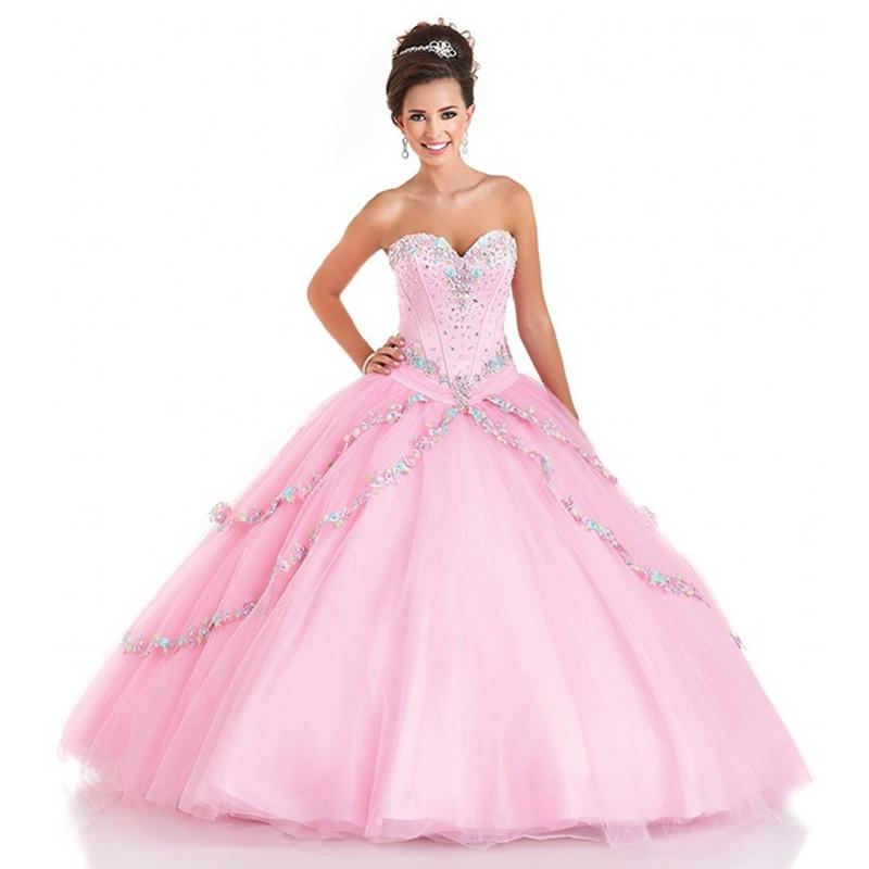 49b3abd82 Get Quotations · Hot Sale Beaded Top Pink Peach Quinceanera Dresses Vestido  De 15 Anos Ball Gown Sweet 16