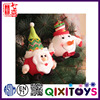 Christmas tree ornaments santa claus and snowman toys