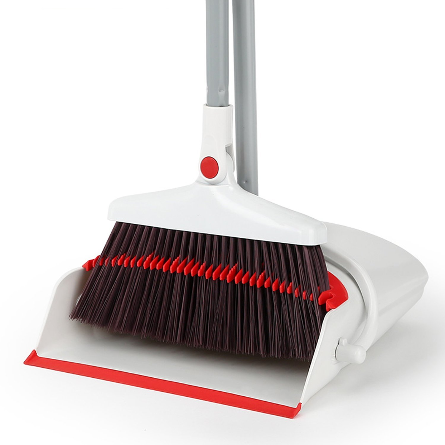 Buy Broom And Dustpan Set ,standing Upright Grips Sweep