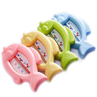 baby bath thermometer cartoon fish shape tub water temperature tester