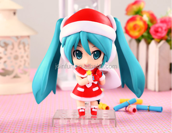 Custom Making Hot Anime Lovely Blue Girl Figure Pvc Toys,Christmas ...