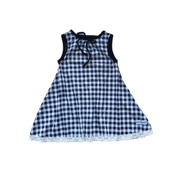 baby girls ruffle polka dot dress 2019 new design long sleeve dress children wear wholesale clothing kids frock designs