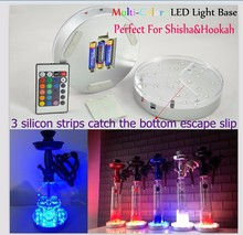 Remote Controller Led Vase,Bottle, Party Event Centerpiece Led Light Base Table Decorations for Wedding