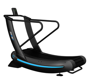 commercial self- generated curve treadmill/ gym running machine