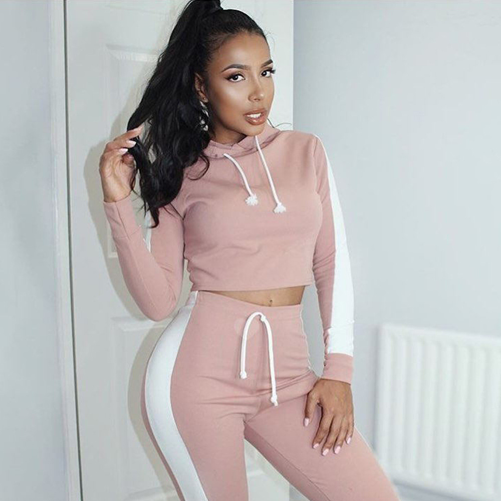 2019 Chinese shanuoint brand sportswear young sport ready made two piece set women clothing