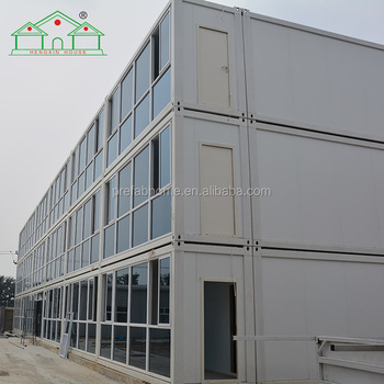 20ft factory direct steel frame flat pack container house for sale