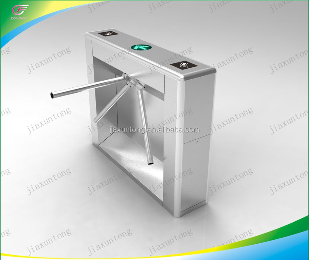 Market And Hotel Security Access Control System Electric Tripod Turnstile