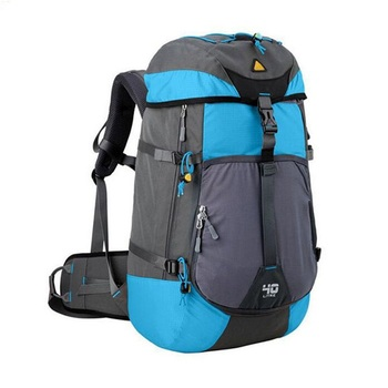 2018 Waterproof Mountaineering Back Pack Bag Custom Camping Hiking Backpack
